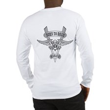 Chromed Winged V Long Sleeve T-Shirt