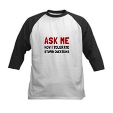Ask Me Baseball Jersey
