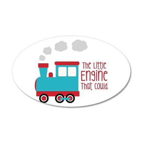 The Little Engine That Could Wall Decal