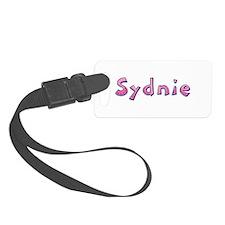 Sydnie Pink Giraffe Luggage Tag
