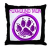 Foxhound Mom Throw Pillow