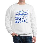 Gulls! Gulls! Gulls! Sweatshirt