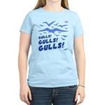 Gulls! Gulls! Gulls! Women's Light T-Shirt