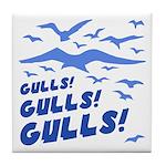 Gulls! Gulls! Gulls! Tile Coaster