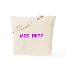 Mrs Depp Tote Bag