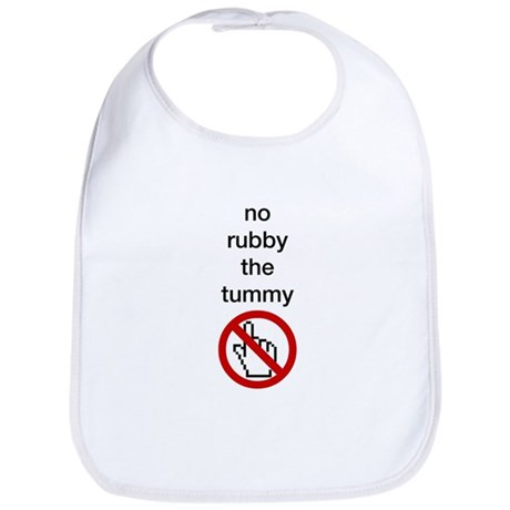 No Rubby the Tummy Bib