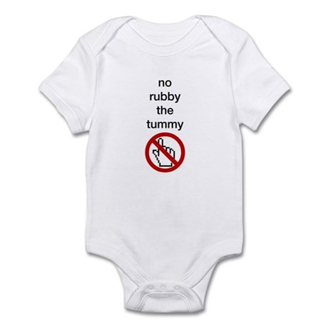 No Rubby the Tummy Infant Bodysuit