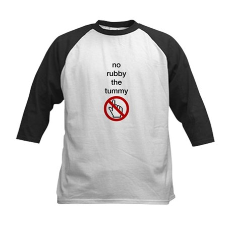 No Rubby the Tummy Kids Baseball Jersey