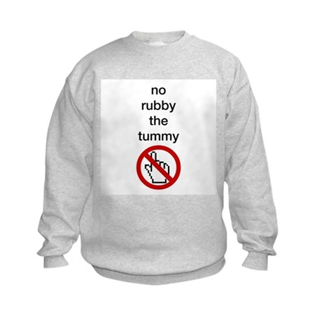 No Rubby the Tummy Kids Sweatshirt