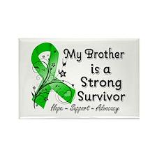 Brother Strong Survivor Rectangle Magnet