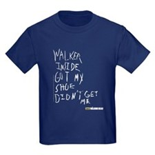 walking dead carl's Kids Dark T-Shirt