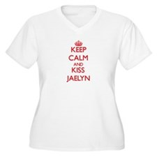 Keep Calm and Kiss Jaelyn Plus Size T-Shirt