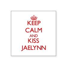 Keep Calm and Kiss Jaelynn Sticker