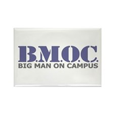 BMOC (Big Man On Campus) Rectangle Magnet (100 pac