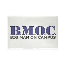 BMOC (Big Man On Campus) Rectangle Magnet (100 pac