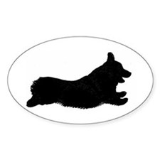 Original Logo Silhouette Oval - Decal