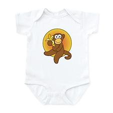 Banana Monkey Infant Bodysuit