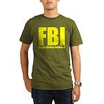 Fanatic Birding Indiv Organic Men's T-Shirt (dark)