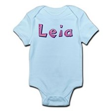 Leia Pink Giraffe Body Suit