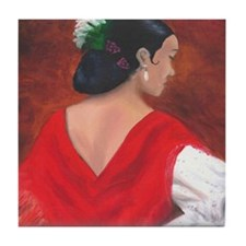 Flamenco Dancer -  Tile Coaster