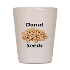 Donut Seeds Shot Glass