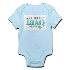 Funny Welcome home army girlfriend Infant Bodysuit
