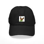 Gold Brabanter Hen Black Cap