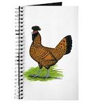 Gold Brabanter Hen Journal