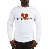 I Love Philosophy Long Sleeve T-Shirt