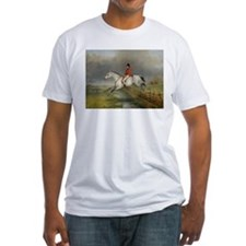 Clearing the Fence on the Hunt T-Shirt