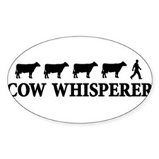 cowwhisperer copy Decal