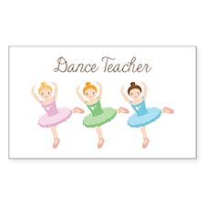 Dance Teacher Bumper Stickers