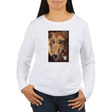 Greyhound  Face T-Shirt