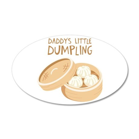 DADDYS LITTLE DUMPLING Wall Decal