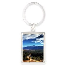 Mt Elbert Portrait Keychain
