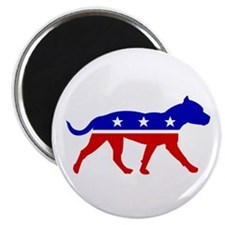 "Pit Bull Party 2.25"" Magnet (100 pack)"