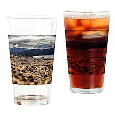 Turquoise Lake Drinking Glass
