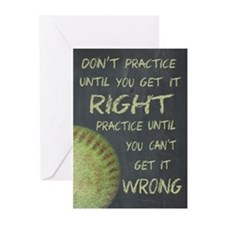 Practice Fastpitch Softb Greeting Cards (Pk of 20)