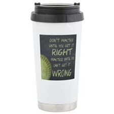 Practice Fastpitch Soft Travel Mug