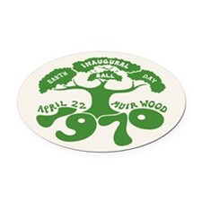Earth Day Inaugural Ball Oval Car Magnet