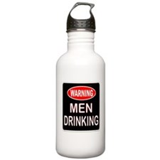 MEN DRINKING Water Bottle