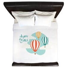 happy tRAILS King Duvet