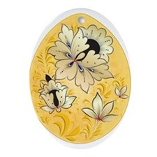 Ukrainian Egg - 5 - Ornament (Oval)