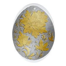 Ukrainian Egg - 20 - Ornament (Oval)