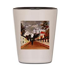 Rousseau - Vue des Environs de Paris; H Shot Glass