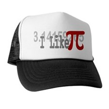 I Like Pi Geeky Trucker Hat