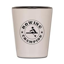 Rowing Champion Shot Glass