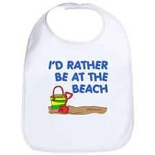 Rather Be At The Beach Bib
