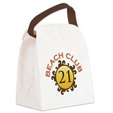 Beach Club 21 Canvas Lunch Bag