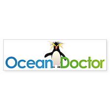Ocean Doctor Penguin Logo Bumper Sticker